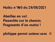 Haïku n°960 290821