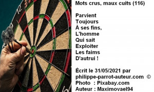 Mots crus, maux cuits 116