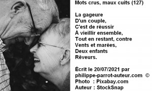 Mots crus, maux cuits 127