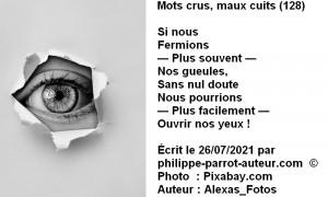 Mots crus, maux cuits 128