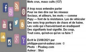 Mots crus, maux cuits 137
