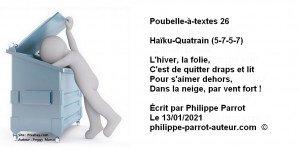 Poubelle-à-textes 26