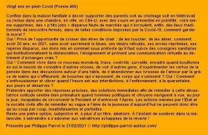 469 - Vingt ans en plein Covid a